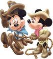 Cowboy-mickey-minnie