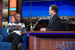 Don Cheadle visits Stephen Colbert