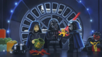 Maul, Palpatine, Darth Vader & Kylo Ren - The LEGO Star Wars Holiday Special Concept Art