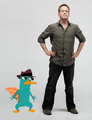 Perry the Platypus with Dee Bradley Baker