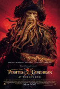 Pirates of the Caribbean- At World's End Theatrical Poster -2