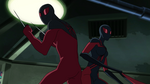 Ultimate Spider-Man - 4x21 - Spider Slayers, Part One - Scarlet Spider and Ultimate Spider-Woman