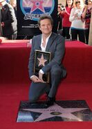 Colin Firth Hollywood Walk of Fame