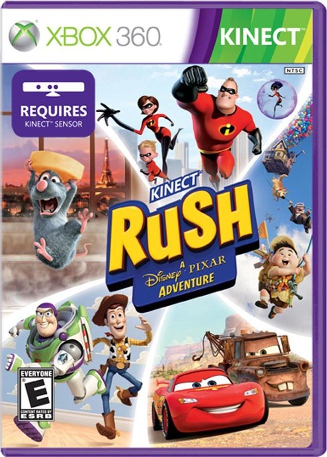 Kinect Rush: A Disney/Pixar Adventure