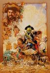 Muppet Treasure Island poster art