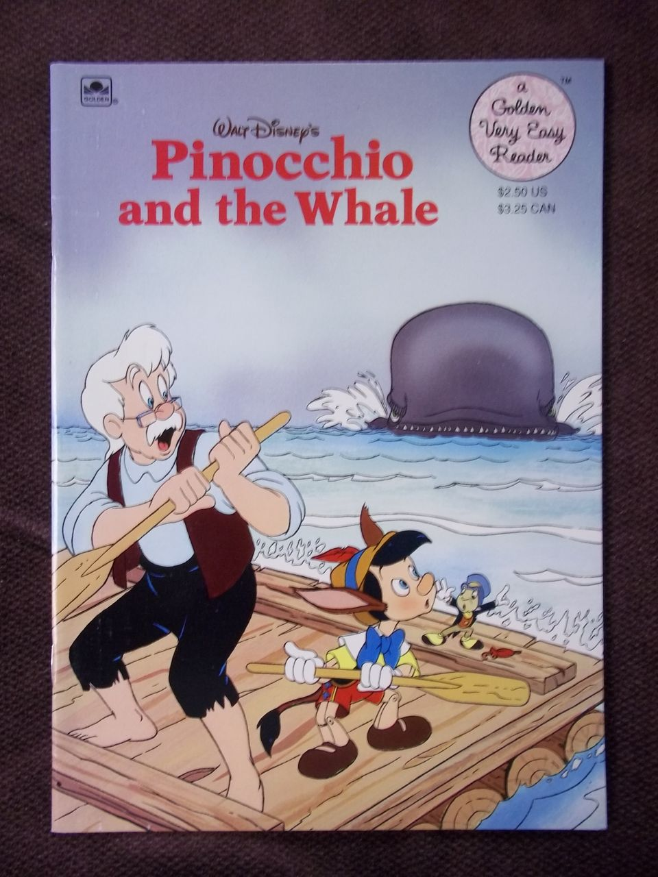 Pinocchio and the Whale (Golden Very Easy Reader)
