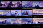 The Princess and the Protector storyboard 6