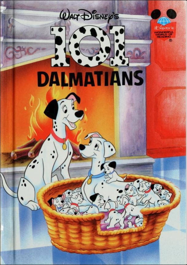 101 Dalmatians (Disney Wonderful World of Reading)