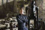 Alan Tudyk and K-2SO