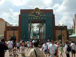 Animation Courtyard Gate at Disney-MGM Studios