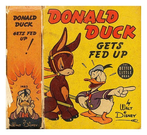 Donald Duck Gets Fed Up