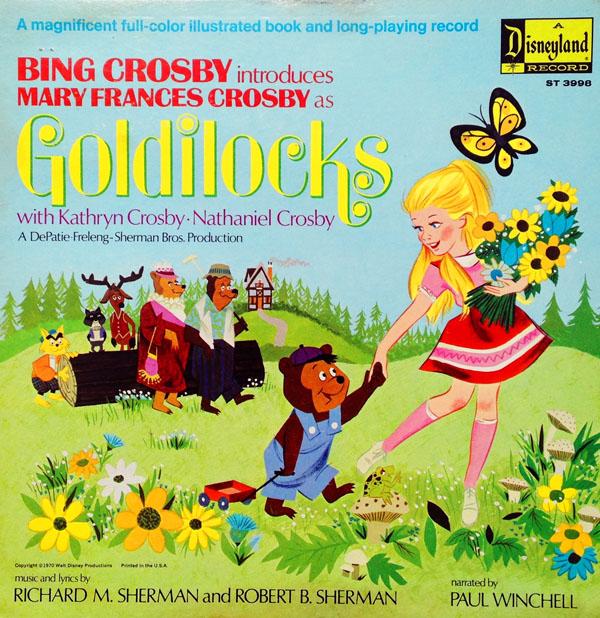 Bing Crosby Introduces Mary Frances Crosby as Goldilocks