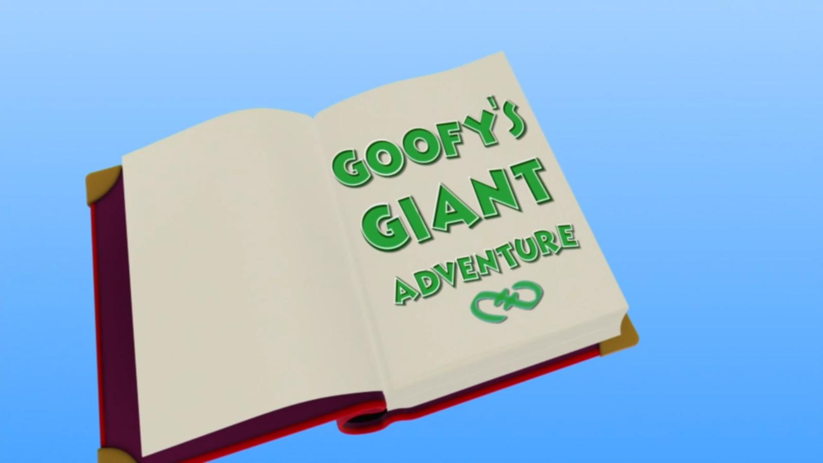 Goofy's Giant Adventure