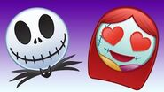 The Nightmare Before Christmas As Told By Emoji Disney