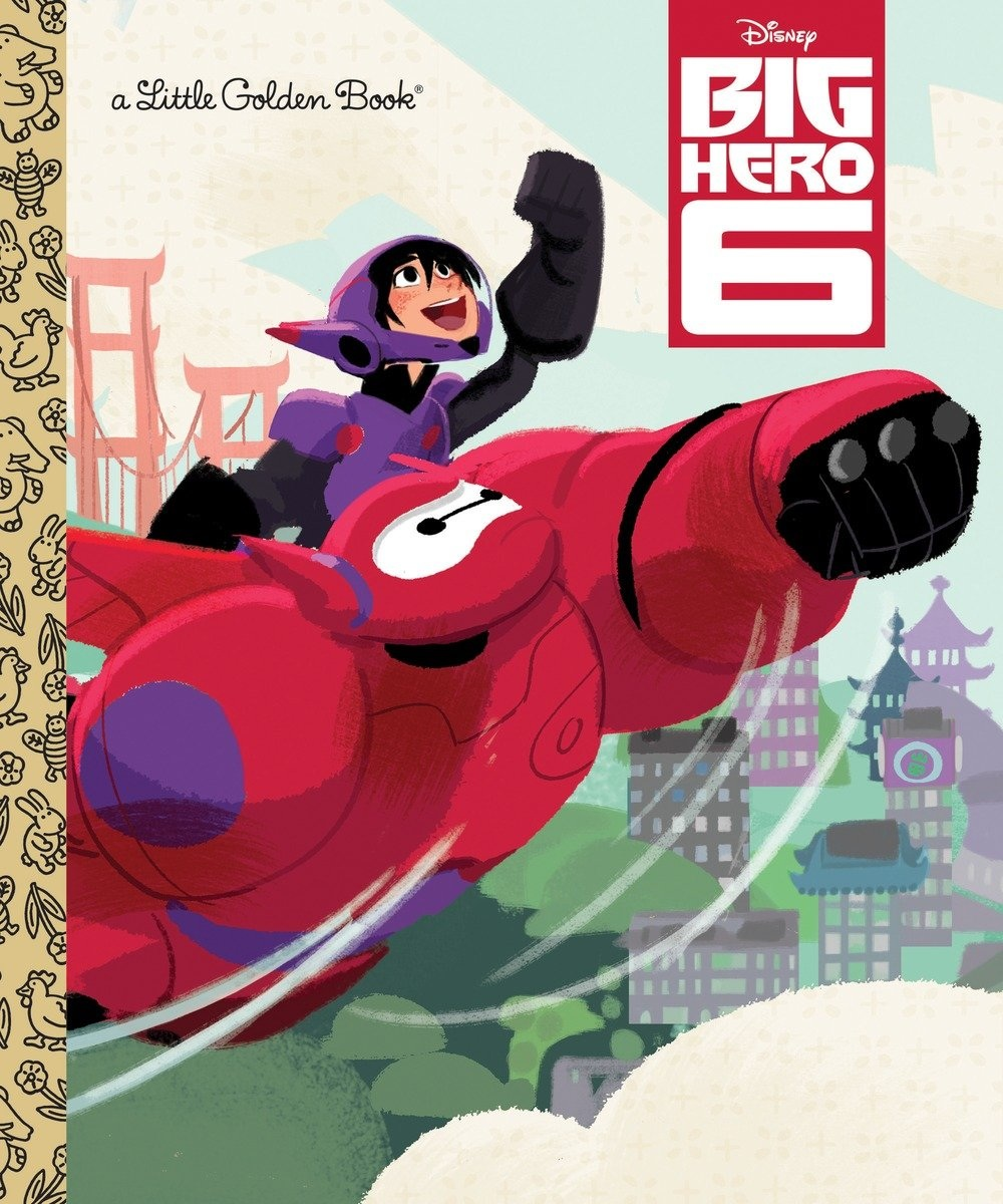 Big Hero 6 (Little Golden Book)