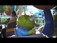 Alien Swirling Saucers Holiday - Deck The Halls-2