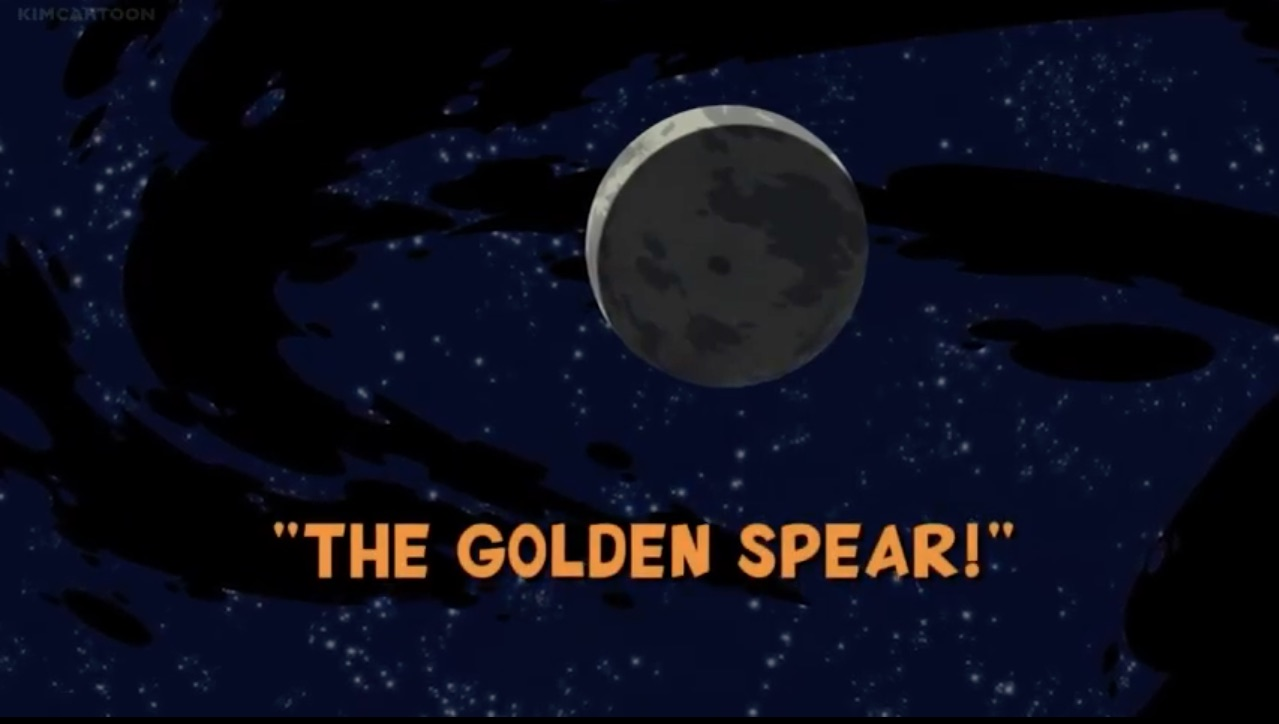 A Lança Dourada!