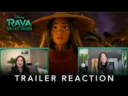 Disney's Raya and the Last Dragon - Trailer Reaction