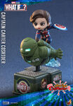 What If Cosbaby Bobble-Heads - Captain Carter Cosrider 2