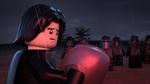 Ben with Ren's helmet - LEGO Star Wars Terrifying Tales