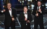 Chris Williams, Don Hall & Roy Conli 87th Oscars