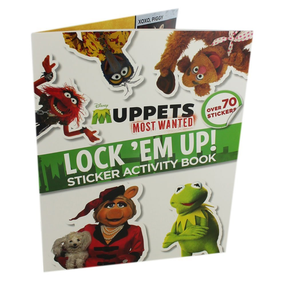 Muppets Most Wanted: Lock 'Em Up! Sticker Activity Book