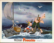 Pinocchio lobby card