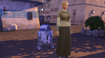The Sims 4 Star Wars Journey to Batuu - Sim with B series droid