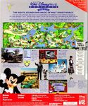 The Walt Disney World Explorer - Second Edition box art back