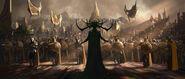 Thor Ragnarok - Concept Art - Hela
