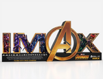 AIW IMAX theater standee
