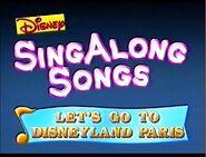 Let's Go to Disneyland Paris 1996 closing title
