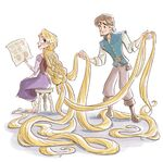 Rapunzel's Guide to All Things Brave, Creative, and Fun illustrations 5