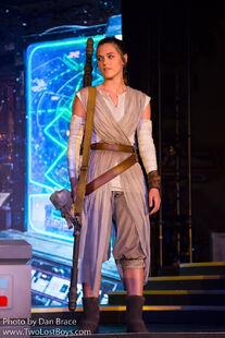 Rey at Disney World