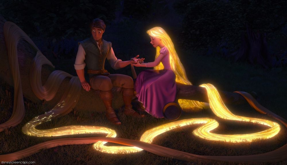 Cabelo Mágico de Rapunzel