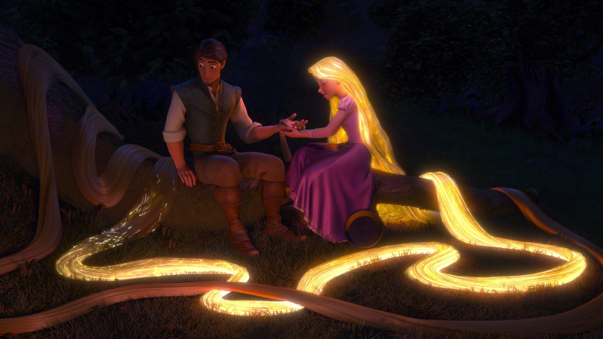Rapunzel's Magic Hair