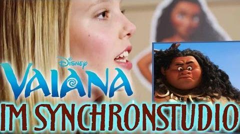 VAIANA - Im Synchronstudio Disney HD