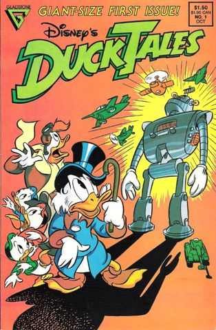 DuckTales: Os Caçadores de Aventuras (Gladstone Publishing)