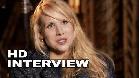 "Into the Woods Lucy Punch ""Lucinda"" Behind the Scenes Movie Interview"