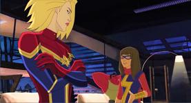 Kamala Khan n Captain Marvel AUR 1