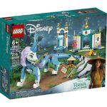 LEGO Raya and the Last Dragon- Raya and Sisu Dragon set