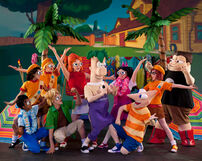 Phineas and Ferb Live characters