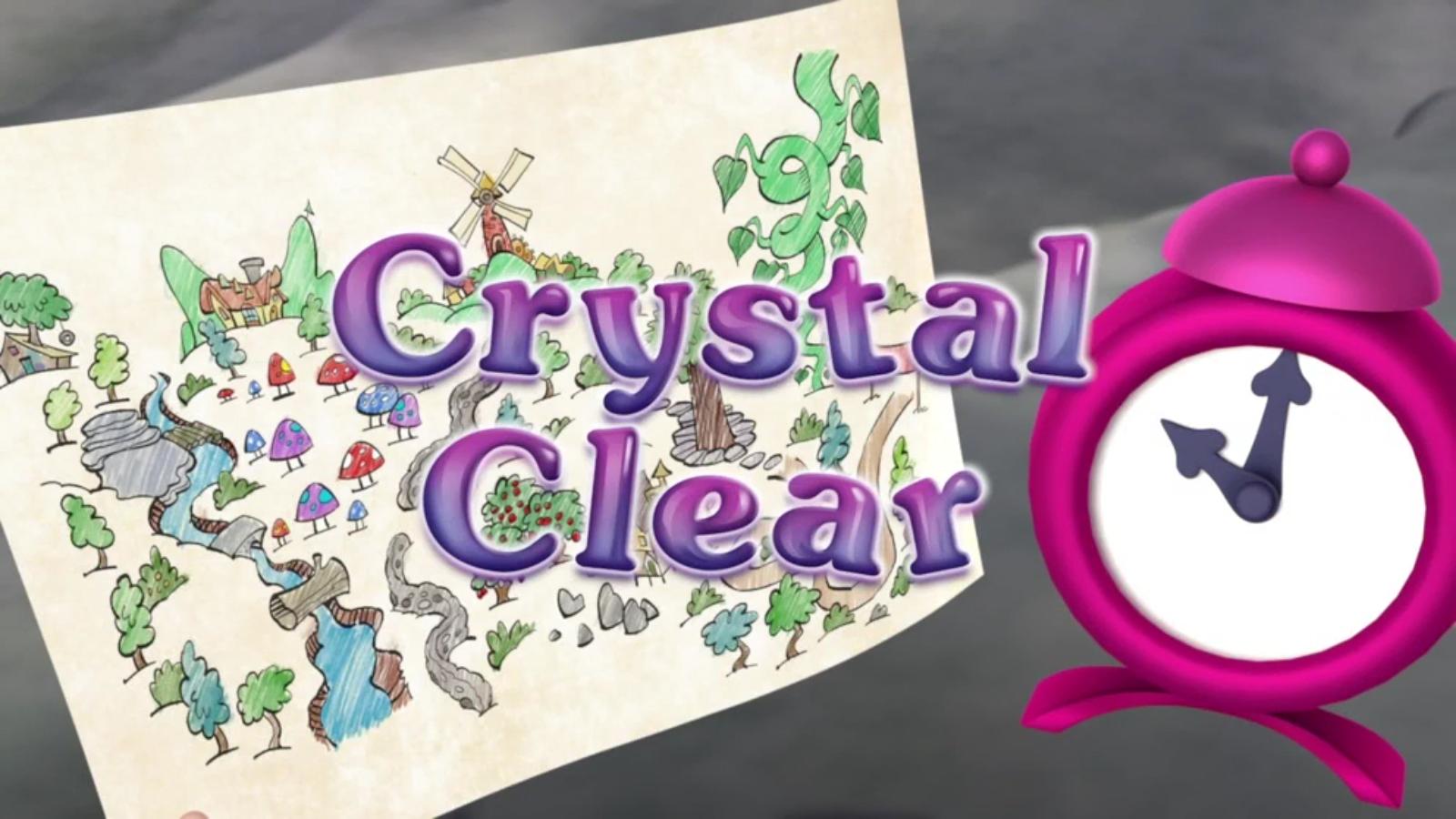 Crystal Clear (Goldie & Bear)