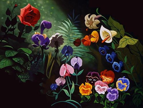 Flores do País das Maravilhas