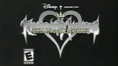 Kingdom Hearts Chain Of Memories Commercial (2004)