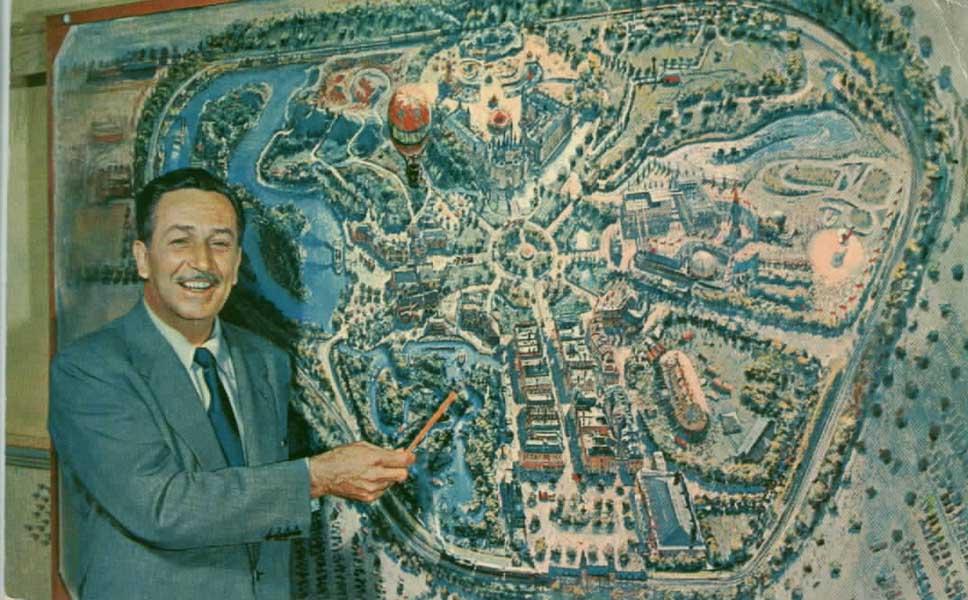 Disneyland Maps Gallery