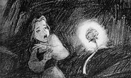 Beauty and the Beast - Concept Art - Belle and the Enchanted Rose