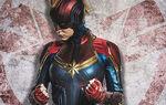 Captain Marvel helmet promo 2