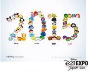 D23 Japan Tsum Tsum Promotional Artwork