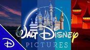 Disney Castle Openings from 45 Films Disney